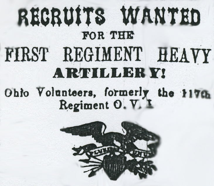 Recruitment ad from Gallipolis Journal